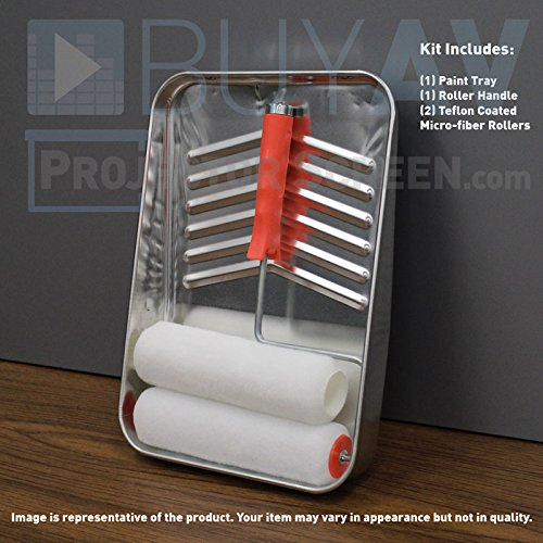 Farbe auf Bildschirm Projektor (Roller Kit) - Paint Roller Kit