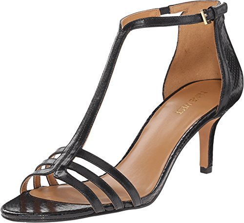 Nine West GoHome Black/Black Leather