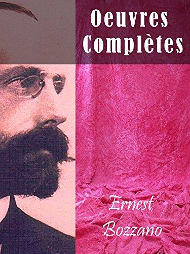 Oeuvres Complètes Ernest Bozzano (Religião e Filosofia)