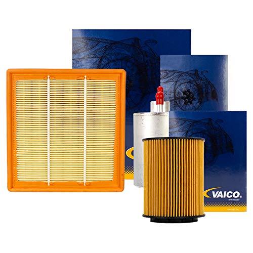 Preisvergleich Produktbild Vaico Filter Set Komplett Ölfilter Luftfilter Kraftstofffilter