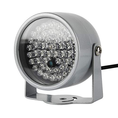 LED IR-Strahler,LED IR Infrarot Diode Scheinwerfer Nachtsicht für Überwachungskamera CCTV 850nm(60°8W Scheinwerfer mit Netzteil) Ir-led Wellenlänge