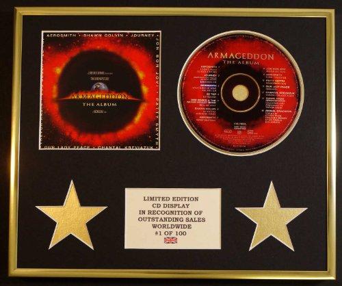 AEROSMITH/CD-Darstellung/Limitierte Edition/ARMAGEDDON (Aerosmith Sammlerstücke)