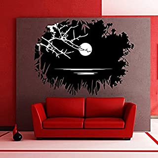 Zigzacs Wall Sticker Beautiful Nature ArtDesign Home Décor Removable Wall Decal