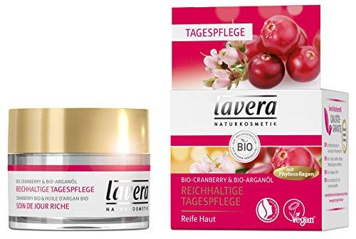 lavera Reichhaltige Tagespflege mit Phytocollagen ∙ Glättet das Hautbild ∙ Bio Cranberry & Bio...