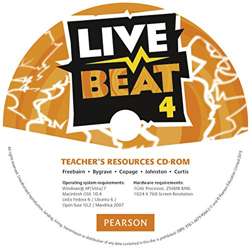 Live Beat 4 Teacher's Resources CD-ROM (Upbeat)
