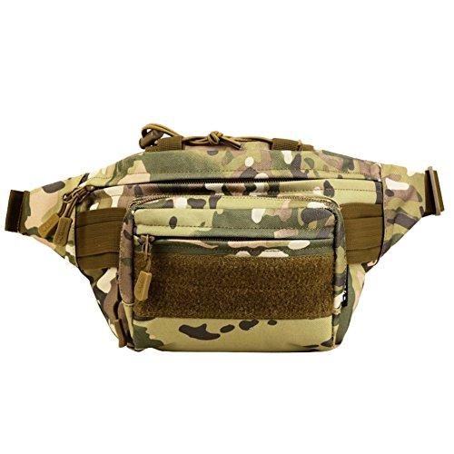 Reefa Tasche für Outdoor Sport Reiten für Männer D-Tarnung