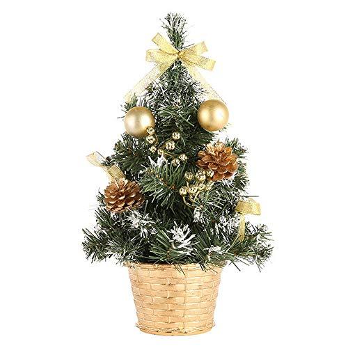 ---Mini Desktop Weihnachtsbaum | 30cm | Frohe Weihnachten Baum Schlafzimmer Schreibtisch Dekoration Spielzeug Puppe Büro Home Kinder...