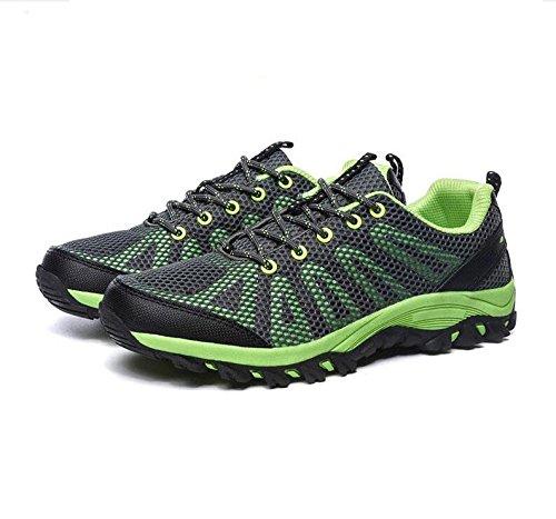 Z&HX sportsPattini da escursione esterna estiva scarpe sportive traspiranti scarpe casual scarpe da pesca Green