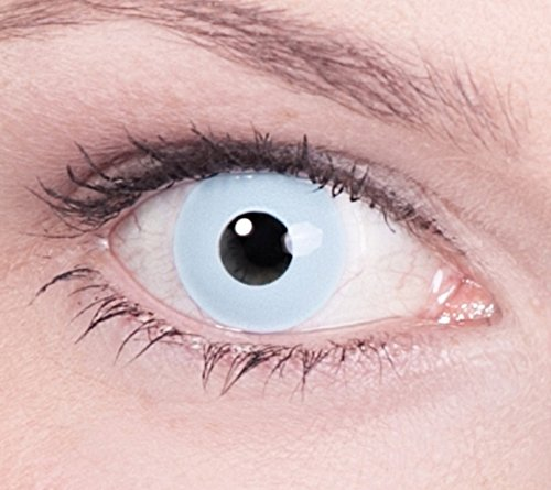 1 Paar Farbige Kontaktlinsen Hellblau