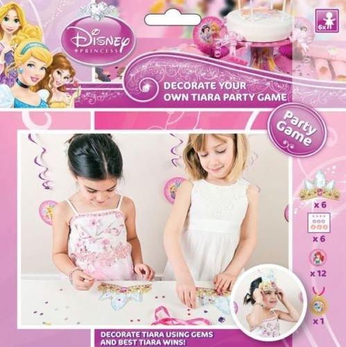 Disney Princess Party - Dekoriere Tiaras Party Spiel/Activity (Disney Party-spiele Princess)