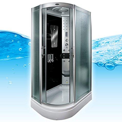 AcquaVapore DTP8060-7311L Dusche Duschtempel Komplett Duschkabine -Th. 120x80, EasyClean Versiegelung der Scheiben:Nein! +0.-EUR