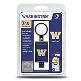 Centon Washington Huskies DataStick Keychain 2 GB USB Flash Drive DSK2 GB-CUW