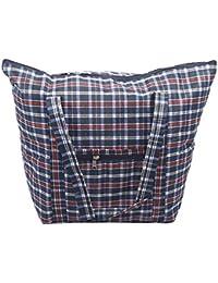 Travel Shoulder Bags, 2-Pack Multipurpose Foldable Large Picnic/Shopping Hand Bags For Men & Women