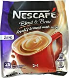 #7: Nescafe Blend & Brew Zero 2 in 1 (25 sticks)