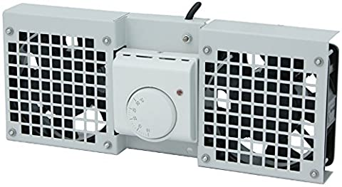 LOGILINK- Roof Fan Tray for Wall Mount Enclosure with 1 fan, grey