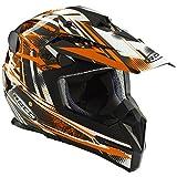 ROCC 724 Offroad Helm (M, schwarz/orange)