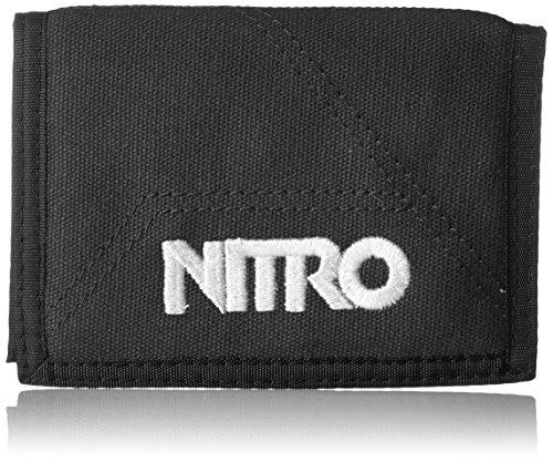 Nitro snowboards 2018 portamonete, 14 cm, nero (negro)