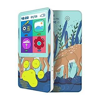 MP3 Enfant 8 Go Écran Coloré de avec Motif de Cerf, Lecteur MP3 Enfant, Radio FM Verrouillage des Touches Livres Numériques Jeux
