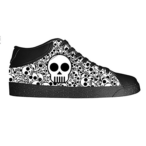 Dalliy Cool Skull Men's Canvas shoes Schuhe Lace-up High-top Sneakers Segeltuchschuhe Leinwand-Schuh-Turnschuhe C