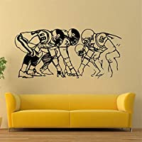 American Football Player Wall Stickers Children