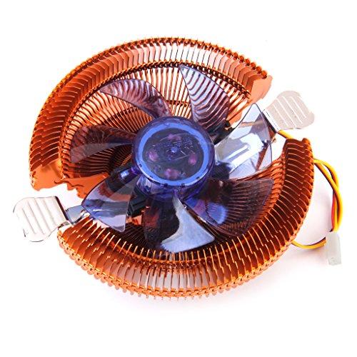 CPU Kühler Lüfter für Intel LGA775/Celeron/Pentium 4/Pentium D/AMD 754/AM2/AM3 (Lga775 Cpu Kühler)