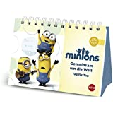 Minions - Gemeinsam um die Welt Geschenkbuch: Tag für Tag