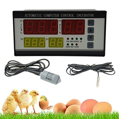zreal xm-18Brutkasten Automatische Inkubator D Eier MULTIFONCTIONS System Kontroll-Sensor Temperatur und Luftfeuchtigkeit Automatische für Verkauf Warm