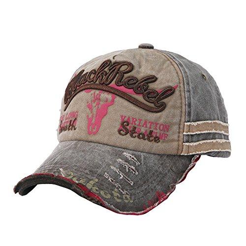Zottom Unisex Männer Frauen Baseball Cap Trucker Cap Sport Hysterese Hip-Hop Hut einstellbar