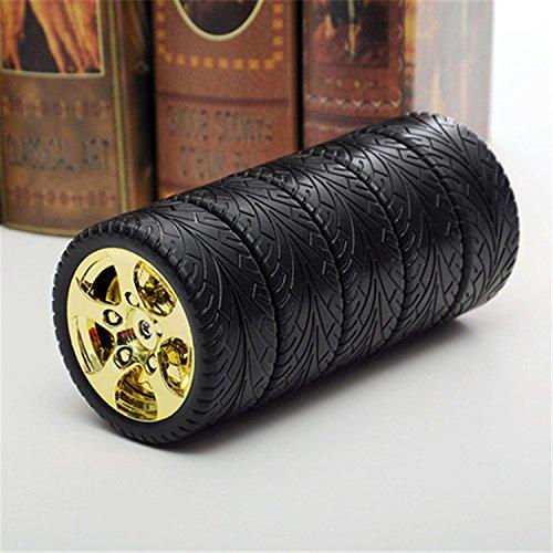 Preisvergleich Produktbild XJoel Edelstahl-Trommel 11 Unzen Doppelwand-Vakuum-Thermobecher aus Kunststoff Exterieur Gelb