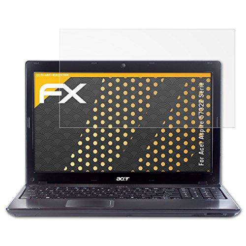 atFolix Panzerfolie kompatibel mit Acer Aspire 5732Z Serie Schutzfolie, entspiegelnde und stoßdämpfende FX Folie (2X) (Laptop Acer 5732z Aspire)