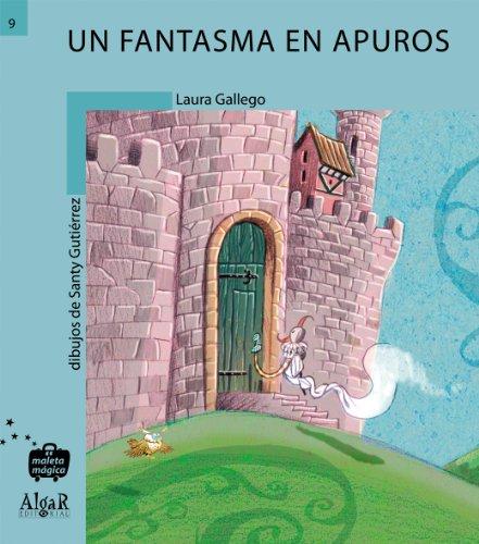 Un fantasma en apuros (Maleta Mágica) por Laura Gallego