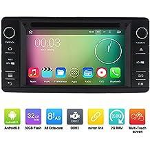 6,2pulgadas Octa Core 800* 480Android 6.0coche reproductor de DVD GPS navegación Multimedia estéreo del coche para Mitsubishi Outlander 201220132014Radio Control de volante con 3G WIFI Bluetooth libre 8G tarjeta SD Mapa