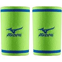 Mizuno - Pulsera Larga (un par), Green Gecko/Skydiver, Talla única