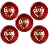 #10: SG Club Cricket Leather Ball Pack Of 6 Balls