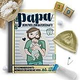 PAPA-Dein Pass zur Vaterschaft und Schwangerschaftswegweiser für werdende Väter mit Übersichten, Checklisten und Terminen rund um Schwangerschaft, Geburt & Baby zum eintragen und mitnehmen Rundfux