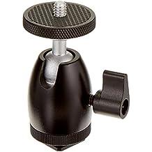 Neewer 4 piezas de Mini Rótula bola de trípode tornillo 1/4 pulgada con cerradura y adaptador de zapata para luz LED, Monitor, cámaras DSLR, Video y videocámaras