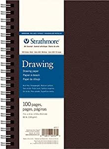 Strathmore Field Drawing Book Black 7X10 by Strathmore