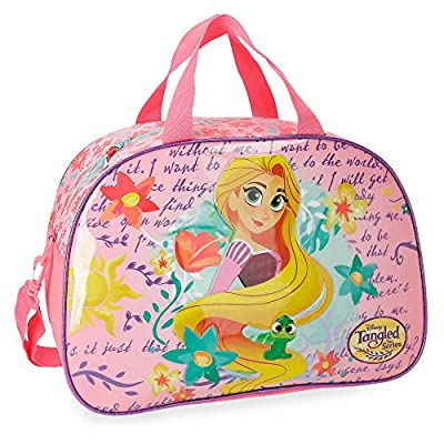 Disney Rapunzel Travel Duffle, 40 cm, 25.52 liters, Multicolour (Multicolor)