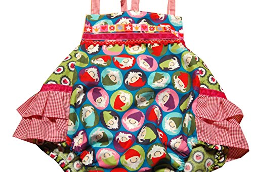 Baby Romper, Strandanzug,Sommer Spielanzug 6-9 Monate, Handmade Unikat