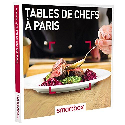 SMARTBOX - Coffret Cadeau -TABLES DE CHEFS À PARIS - Exclusivité Web