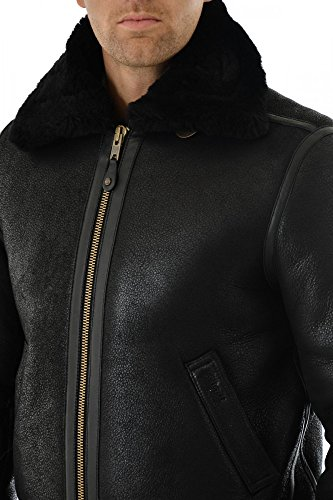 Schott Nyc - blouson - en cuir - homme Noir