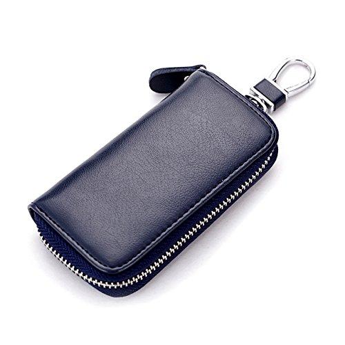 Easybuy India Genuine Leather Car Key Holder Wallets Men Housekeeper Organizer Women