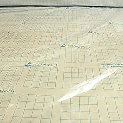 SZ JIAOJIAO Plane Transparente Verdickung Kanten Perforierten Kunststoff Regenfeste Plane Balkonblumen Pflanze Gew/ächshausfolie,1X1m