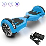 Hoverboard [Mega Motion E1] - 6.5 inch Segway-Electric Skateboard-700W Motor - [Built-in Bluetooth Speakers ] - LED - Self Balanced Electric Scooter with CE Safety Systems