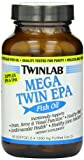 Twinlab Mega Twin Epa Fish Oil 60 Capsules