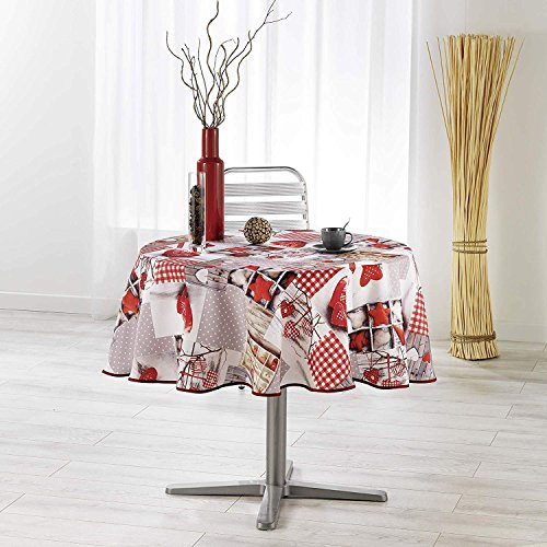 Zbourm Nappe Table Nappe Nordique Nappe Rectangulaire Nappe Ronde