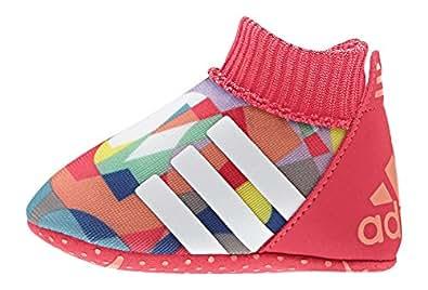 adidas  Relino II Crib, Sneakers Basses Unisexe - Bébé - Multicolore - Rojo / Blanco / Azul (Rojimp / Ftwbla / Senade), 19 EU