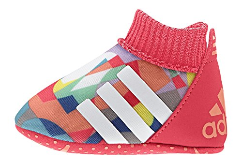 adidas Relino Ii Crib, Chaussures de Football Mixte Bébé Rouge / blanc / bleu (rouge impact / blanc Footwear)