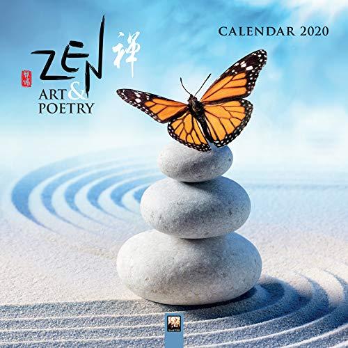 Zen Art & Poetry - Zen Kunst und Poesie 2020: Original Flame Tree Publishing-Kalender [Kalender] (Wall-Kalender)