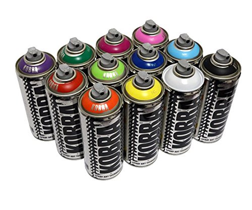 kobra-spray-paint-12-x-400-ml-aerosol-spray-paint-dosen-matt-finish-farbe